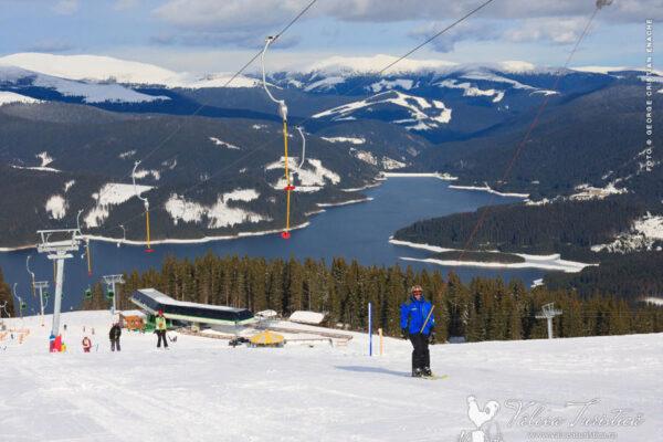 Lacul Vidra - Ski Resort Transalpina