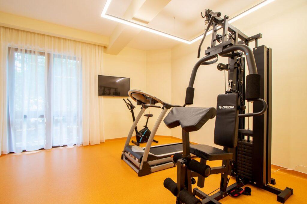 Sala fitness Hotel Izvoare